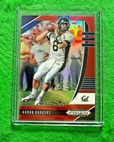 AARON RODGERS PRIZM RED CARD JERSEY #6 PACKERS 2020 PANINI PRIZM DRAFT PICKS