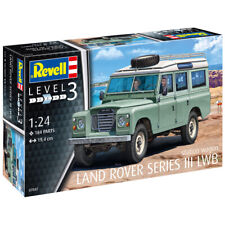 Revell Land Rover Series III LWB Station Wagon Car Model Kit Scale 1:24 07047