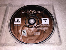Darkstone (Sony PlayStation 1, 2000) PS1 Black Label Game in Plain Case Nice!