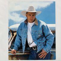 Vintage Garth Brooks 8 x 10 Autographed Photo Reprint Concert Tour Memorabilia