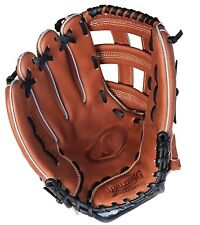 """NEW Spalding True to the Game 13"""" REG H-Web Softball Cowhide Leather Glove"""