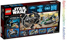 LEGO 75150 Star Wars Vader's TIE Advanced vs A-Wing Starfighter Darth Vade N16/8