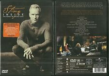 RARE / DVD - STING ( THE POLICE ) : INSIDE / COMME NEUF - LIKE NEW