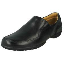 Scarpe classiche da uomo neri Mocassini Clarks