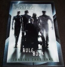 Rule Book For X-Men Trading Card Game Brand NEW Wizards Of The Coast How To Play