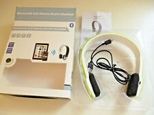 NEW Bluetooth STEREO AUDIO SET . BH02 . Lime Green .. PLEASE See Photos INFO ..