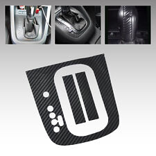 Carbon Fiber Gear Panel DSG Sticker Decal For VW Golf MK6 GTI R20 Automatic AT