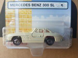 Tomica - MERCEDES-BENZ 300SL [WHITE] NEAR MINT VHTF UK BLISTER CARD CHINA