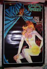 VINTAGE 1986 MARVEL POSTER CLOCK & DAGGER (CARL POTTS)