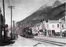 White Pass & Yukon Railroad (WP&YR) Engine 67 in Skagway, AK - 8x10 Photo