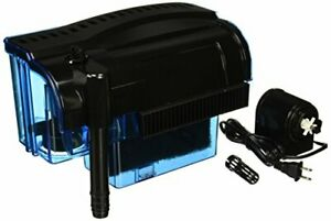 Penn Plax Cascade Hang-on Aquarium Filter with Quad Filtration System Cleans ...