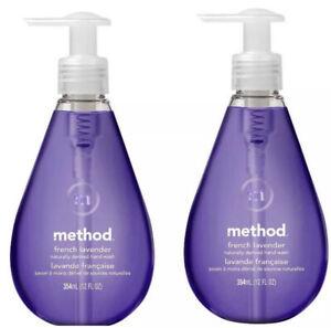 2PCS Method French Lavender Hand Soap 12fl.OzX2