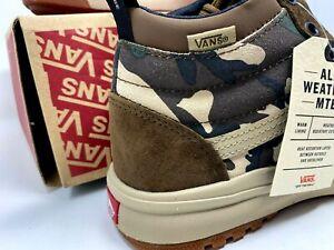 Vans Ultrarange Hi Di MTE Nomad Camo Shoes men's us Size 8 Women's Size 9.5