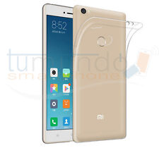 "FUNDA de GEL TPU FINA ""ULTRA-THIN"" 0,3mm TRANSPARENTE para XIAOMI Mi MAX 2 case"