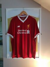 Liverpool shirt 2017 / 2018 not crown paints or candy new balance size Large