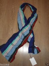 Bufanda de hombre de viscosa color principal azul
