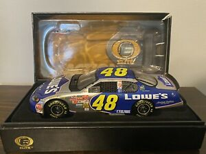 Jimmie Johnson #48 2003 Monte Carlo Elite Lowes Car 1 of 2,400!!!