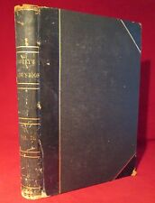 GODEY'S LADY'S BOOK & MAGAZINE 1869 Victorian FASHION Leather ILLUSTRATED Book