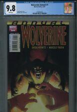Wolverine Annual 1 2007 CGC 9.8 New Holder Marcelo Frusin Kick-Ass Uncanny X-Men