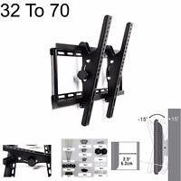32 TO 70 TILT FLAT TV LED LCD OLED QLED WALL MOUNT BRACKET FOR 55 60 65 70 INCH