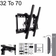 32 TO 70 TILT FLAT TV LED LCD OLED QLED WALL MOUNT BRACKET FOR 44 47 49 50 INCH