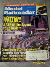 Model Railroader Magazine June 2003 $3.5 million layout, Atlas N Diesel, trains
