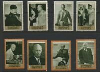 Dwight Eisenhower General - President Fujeira Mint NH Complete Set of 8 $10+Val