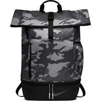 Nike Sport Printed Golf Backpack One Size Black Anthracite Mens Boys BA5756-036