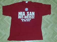 T-Shirt XL Mia san Rot-Weiß Finle Dahom FC Bayern München FCB