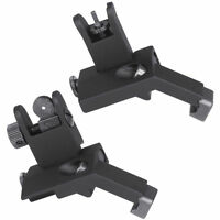 BUIS Flip UP 45 Degree Offset Rapid Transition Iron FRONT & REAR Sights BUIS