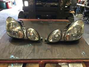 Lexus GS300 headlights left L/H right R/H 2002 JZS160