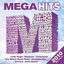 Mega Hits 2010-Die Erste Rhianna, Black Eyed Peas, Auro Dione, Lady Gag.. [2 CD]