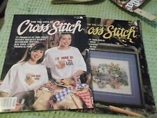 For the Love of Cross Stitch magazine May &July 1995 47 projects & patterns