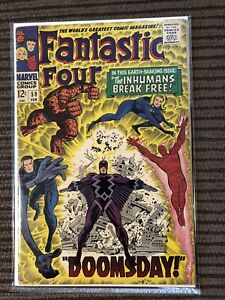Fantastic Four #59 - Beautiful solid Copy - Inhumans!!!
