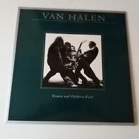 Van Halen - Women And Children First Vinyl LP German 1st Press 1980 NM/NM