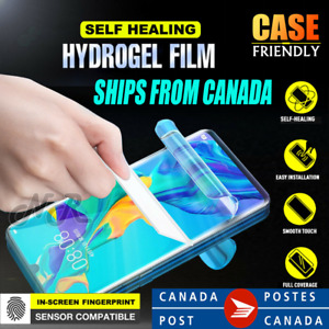 For Huawei P30 Pro P30 Lite HYDROGEL Full Coverage Screen Protector Film Gurd