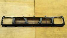 MATT BLACK GRILLE for NISSAN 720 NAVARA HARDBODY D21 PICKUP with clips 1993-1997