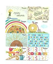 8 Panera Bread Collectible Gift Cards     No cash value