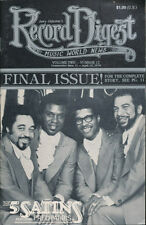 Record Digest Music World New Vol. 2 No. 12 April 15, 1979 FINAL ISSUE Magazine