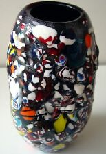 Cartoon Style - Coloured Glass Vase - 260mm