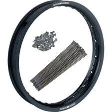Moose Front Wheel Rim 1.60 x 21 & Spoke Set Honda 89-11 XR400R Black