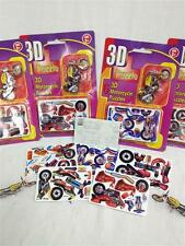 24x 3D Motorcycle Puzzles Bulk Kids Party Toy 4x Packs Birthday Toys Gift Ducati