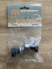 "NOS Diamondback Axle Converters Old Mid School BMX 3/8"" ➡️ 14mm Adaptors Haro GT"