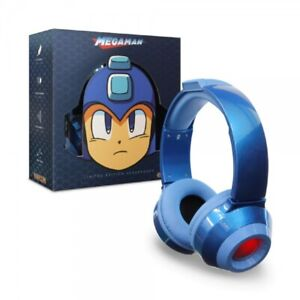 Universal Capcom Mega Man Headset Blue for PS4 Xbox One Switch Lite Wii iPhone