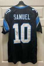 Curtis Samuel #10 Signed Carolina Panthers Jersey Sz XL JSA WITNESSED COA
