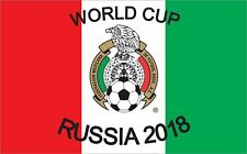 World Cup Russia 2018  Federacion Mexicana 3ft X 5ft Flag