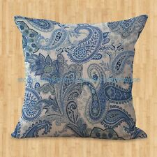 US SELLER- outdoor cushion replacements retro bohemian paisley cushion cover