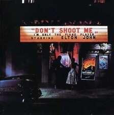 Don't Shoot Me I'm Uniquement The Piano Player - Elton John CD