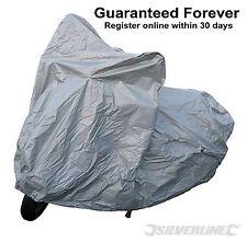 Silverline Motorbike Scooter Waterproof UV-Resistant Cover Outdoor & Indoor