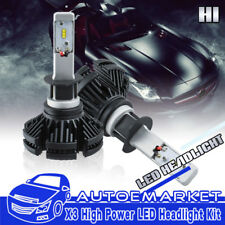 NSSC H1 LED Headlight Bulbs Hi/Lo Beam Conversion Kit 400W 200000LM 6000K White